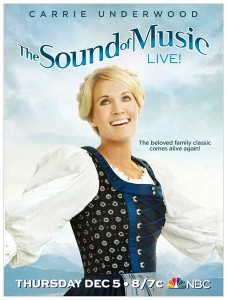 Carrie Underwood talks about the live Sound of Music three-hour event