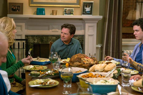michael j fox show thanksgiving