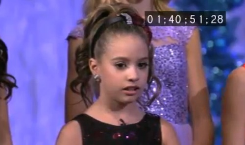 Dance Moms Christmas Mackenzie
