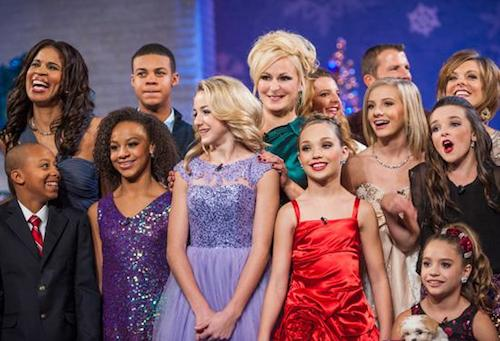 Dance Moms Christmas Special cast