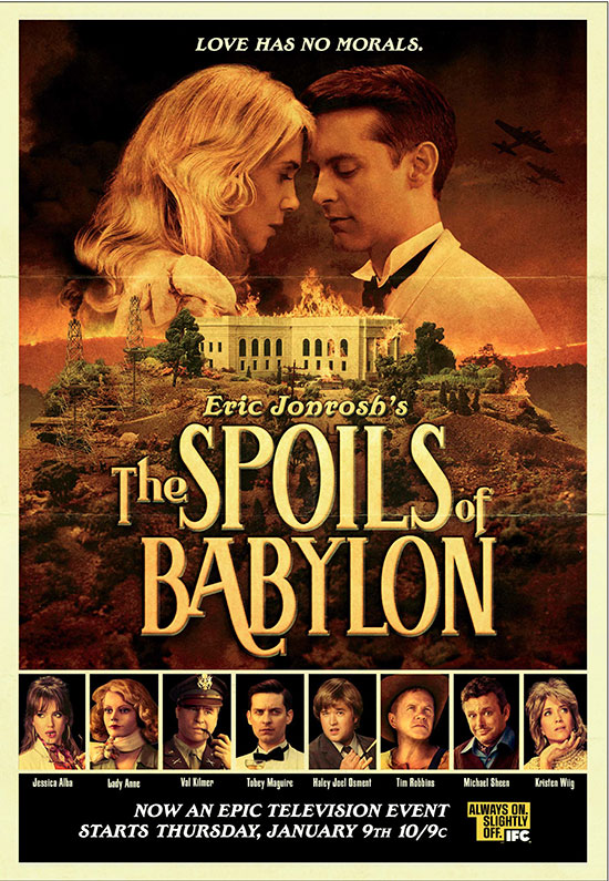 Spoils of Babylon IFC Will Ferrell Tobey Maguire