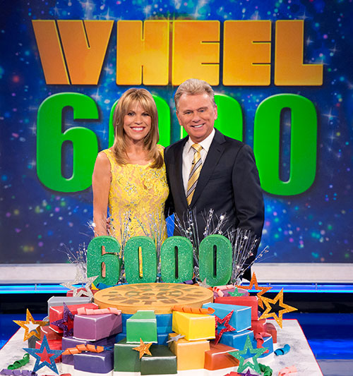 quotwheel of fortunequot to celebrate 6000th episode