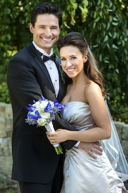 Lacey Chabert and husband