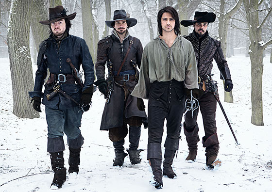 The Musketeers BBC America