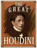 History recreates vintage Houdini posters with Adrien Brody to promote original miniseries