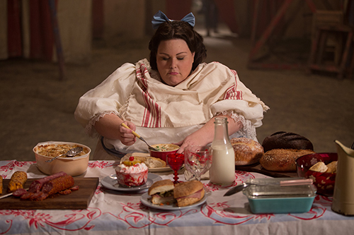 Chrissy Metz plays the fat lady on American Horror Story