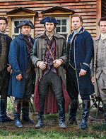"Ben Barnes: Sons of Liberty a ""rough-and-tumble"" version of early American history"