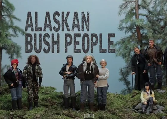 Alaskan Bush People Art Hack parody