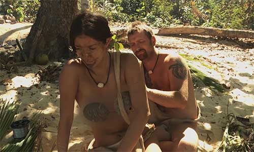 Unedited Footage Of Naked And Afraid Hot Girls