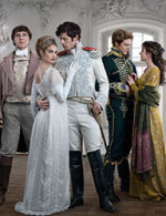 "Epic adaptation of ""War and Peace"" simulcast across A&E, History and Lifetime"