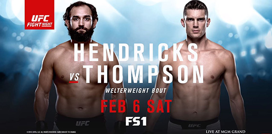 FS1 UFC Fight Night Hendricks vs. Thompson