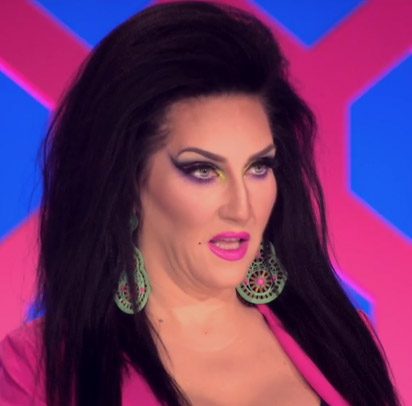 Michelle's WTF face RuPaul's Drag Race season 8 episode 4