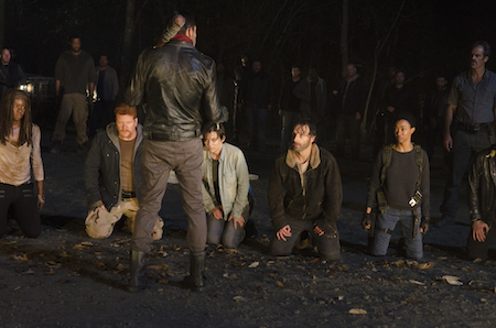Walking Dead Season 6 finale negan grimes gang