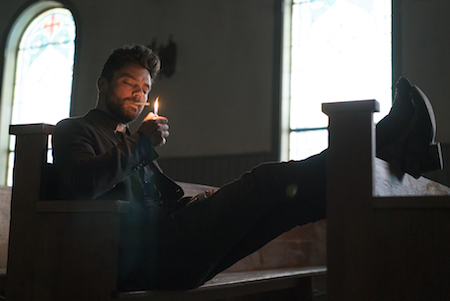 Preaher AMC Dominic Cooper as Jesse Custer