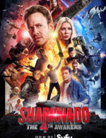 Sharknado: The 4th Awakens Cameos Announced, Poster Art Released