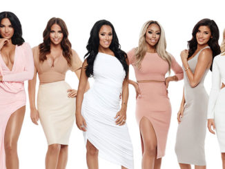 Pictured: (l-r) Natalie Halcro, Olivia Pierson, Ashley North, Sasha Gates, Autumn Ajirotutu, Nicole Williams, Barbie Blank.