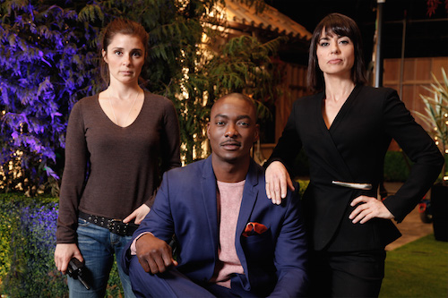 hiri Appleby, B.J. Britt and Constance Zimmer star in Season 2 of Lifetime's hit drama UnREAL