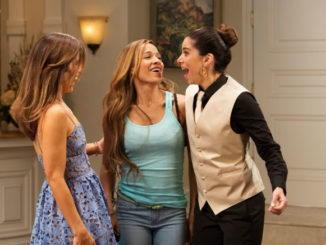(L to R) Ana Ortiz, Dania Ramirez and Roselyn Sanchez star in Season 4 of Devious Maids