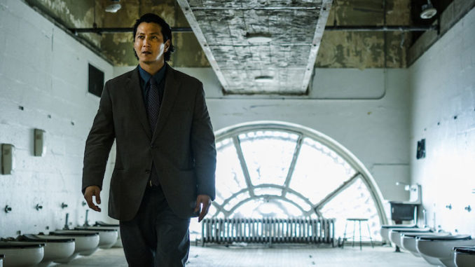 FALLING WATER -- Pictured: Will Yun Lee as Taka