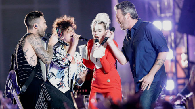 the-voice-adam-levine-alicia-keys-miley-cyrus-blake-shelton