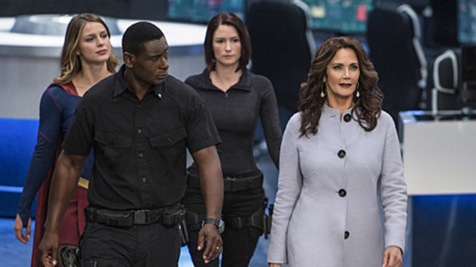 "Lynda Carter on The CW's ""Supergirl"""
