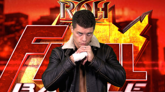 cody rhodes ring of honor