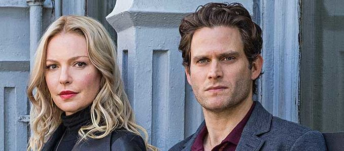 "Katherine Heigly and Steven Pasquale in CBS' new legal thriller ""Doubt"""