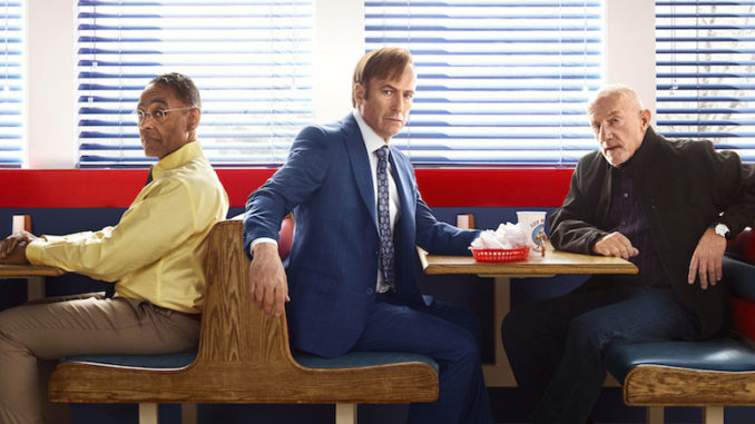 Gus, Jimmy and Mike Better Call Saul Season 3