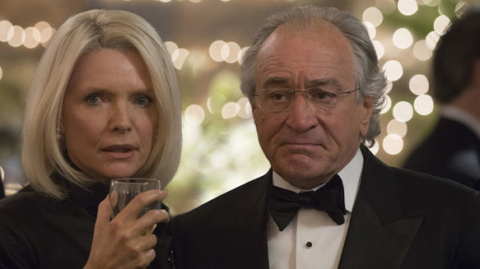 Wizard of Lies HBO Michelle Pfeiffer, Robert De Niro